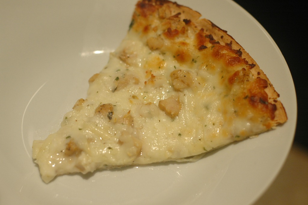 Costco Cuisine Bellatoria Ultra Thin Crust Garlic Chicken Alfredo