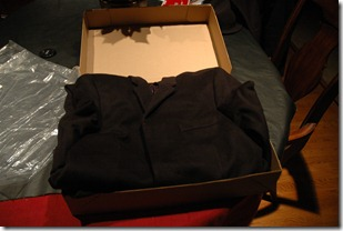 Jcrew topcoat unboxing 2