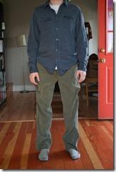 Corduroy pants 1