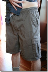 Shorts with elastic and cargo pockets 1